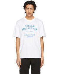 Stella McCartney Shared コレクション ホワイト 23 Obs T シャツ