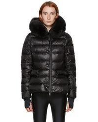 3 MONCLER GRENOBLE Black Down Armonique Puffer Jacket