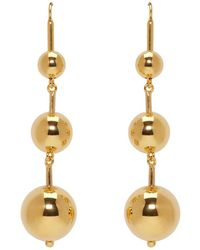 Sophie Buhai - Ssense Exclusive Gold Maryam Earrings - Lyst