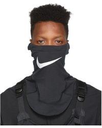 Nike Black Mmw Edition Nrg Face Mask