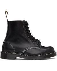 Dr. Martens - Horween コレクション ブラック Made In England 1460 ブーツ - Lyst