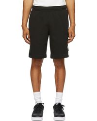 Nike Black Fleece Sportswear Club Cargo Shorts