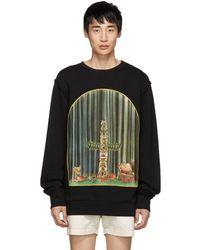 Loewe - Black Totem Window Sweatshirt - Lyst