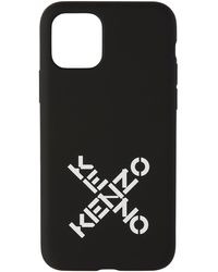 KENZO - ブラック スポーツ ロゴ Iphone 11 Pro ケース - Lyst