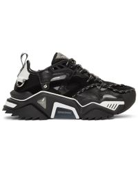 CALVIN KLEIN 205W39NYC - Black Strike 205 Sneakers - Lyst