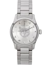 Gucci G-timeless Watch, 27mm - Metallic