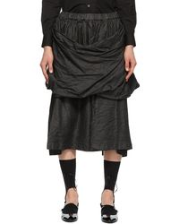 Comme des Garçons - ブラック スカート - Lyst