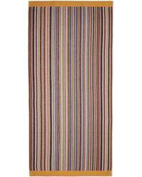 Paul Smith Multi Stripe Towel - Multicolour