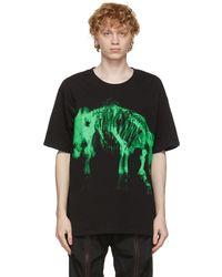 Sankuanz Black Skeleton T-shirt