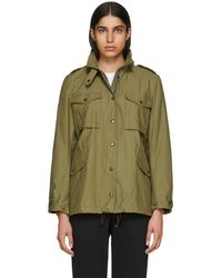 Rag & Bone - Green M15 Moto Jacket - Lyst