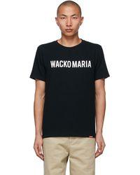 Wacko Maria (type-2) T シャツ - ブラック