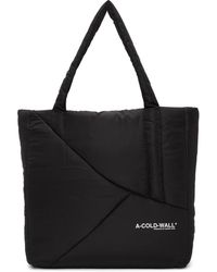 A_COLD_WALL* * Black Padded Tote