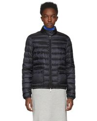 Moncler - Black Down Lans Jacket - Lyst