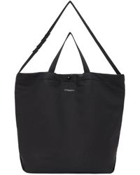 Engineered Garments ブラック コットン キャリーオール トート