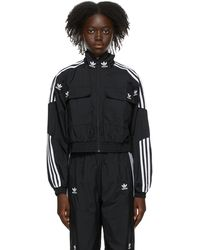adidas Originals - ブラック Adicolor Classics トラック ジャケット - Lyst