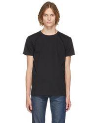 Naked & Famous Circular Knit T-shirt - Black