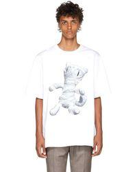 Juun.J - 'mummy Cat' T-shirt - Lyst