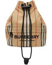 Burberry - ベージュ Phoebe ポーチ - Lyst