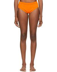 Dries Van Noten Knit Briefs - Orange