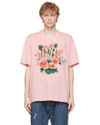 Doublet - ピンク Not Valentine T シャツ - Lyst