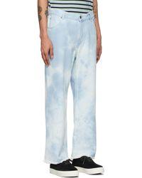 Faith Connexion Blue Tie & Dye Jeans