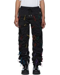 99% Is Black And Multicolor Gobchang Lounge Pants