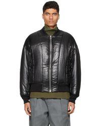 Kuro Bartolo Ma-1 Jacket - Black