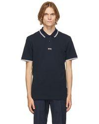 BOSS by HUGO BOSS - ネイビー Pchup 1 ポロシャツ - Lyst