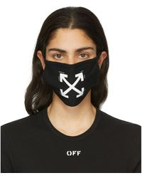 Off-White c/o Virgil Abloh Masque noir Arrows