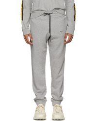 Off-White c/o Virgil Abloh - Pantalon de survetement gris Arrows - Lyst