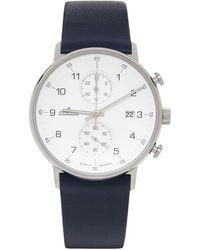 Junghans ネイビー Form C 腕時計 - ブルー