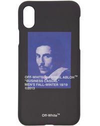 Off-White c/o Virgil Abloh - Black Bernini Iphone X Case - Lyst