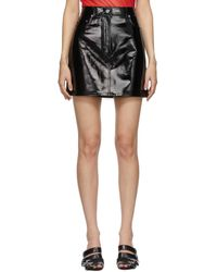 Helmut Lang ブラック 5-pocket スカート