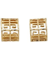 Givenchy Gold 4g Earrings - Metallic