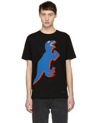 PS by Paul Smith - Black Dino Regular Fit T-shirt - Lyst