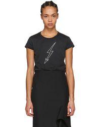 Givenchy - Black Lighting World Tour T-shirt - Lyst