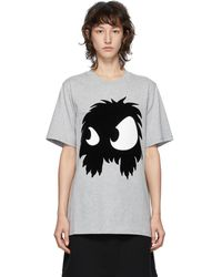 McQ グレー Mcq Swallow Chester Monster T シャツ