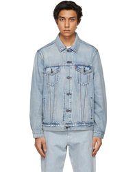 Levi's - ブルー Vintage Fit デニム トラッカー ジャケット - Lyst