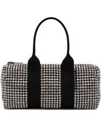 Alexander Wang Mini sac Cruiser noir et blanc à verre taillé