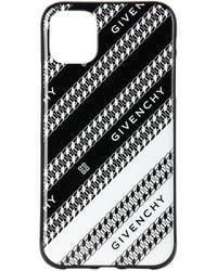 Givenchy ブラック & ホワイト チェーン Iphone 11 ケース