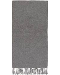 Acne Studios Grey Nr New Canada Scarf - Gray