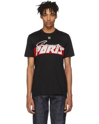 Givenchy - Black Motocross Print T-shirt - Lyst
