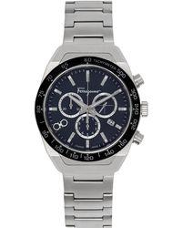 Ferragamo シルバー Slx 腕時計 - メタリック