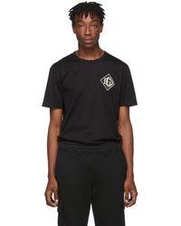 Dolce & Gabbana ブラック ロゴ T シャツ