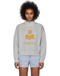 Étoile Isabel Marant Grey Moby Inactif Sweatshirt - Gray
