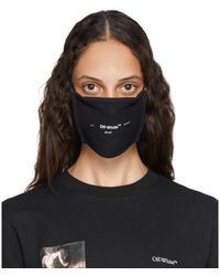 Off-White c/o Virgil Abloh Masque a logo noir