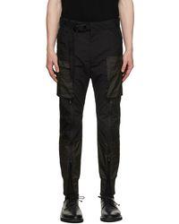 The Viridi-anne Fragment Tactical Cargo Pants - Black