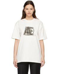 ADER error Ae Logo T-shirt - White
