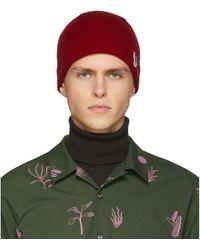 PS by Paul Smith - Bonnet en laine rouge Zebra - Lyst