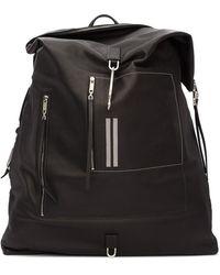 Rick Owens Black Midi Mega Duffle Bag
